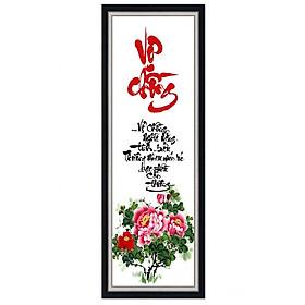 Decal dán tường thư pháp Vợ Chồng trang trí phòng ngủ UD0239K