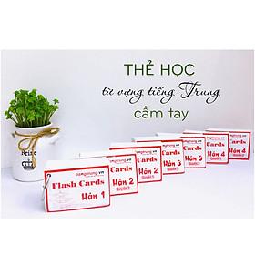 Flashcard 1500 Chữ Hán - Flashcard Tiếng Trung - Thẻ Học Từ Vựng Tiếng Trung Cầm Tay - Tự Học Từ Vựng Tiếng Trung - Từ Vựng HSK 4 - Phạm Dương Châu