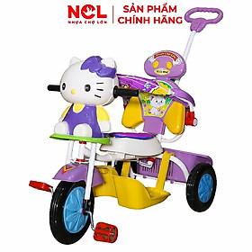 Xe 3 bánh Nhựa Chợ Lớn L5 hình Con Voi - Kitty ĐKBH (Có nhạc)