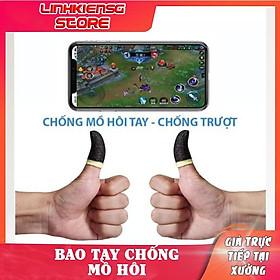 Bộ bao tay chống mồ hôi tay chuyên dụng chơi game mobile
