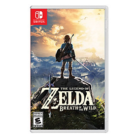 Đĩa Game Nintendo Switch The Legend of Zelda: Breath Of The Wild - Hàng Nhập Khẩu
