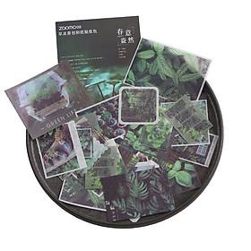 Hình Dán Trang Tí Sticker ZAOMO Card, Bộ 40 Miếng