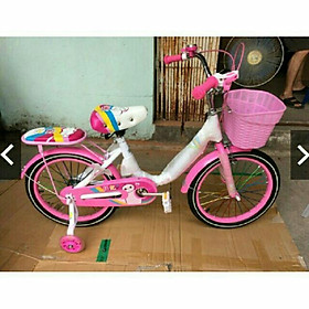 Xe đạp mini nữ bánh 18, 20 cho bé từ 6-9 tuổi, 7-11 tuổi