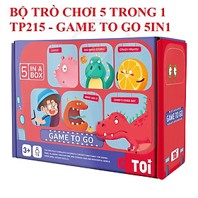 Trò chơi 5 trong 1 chính hãng TOI GAME TO GO 5in1