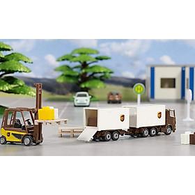 Đồ chơi Mô hình Siku Bộ xe vận chuyển UPS 6324