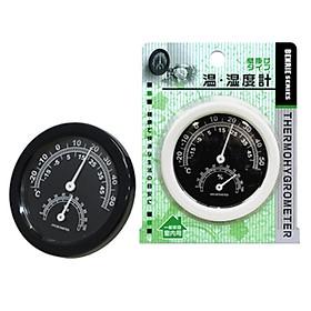 Bộ 2 dụng cụ đo nhiệt độ, độ ẩm gắn tường - Hàng nội địa Nhật