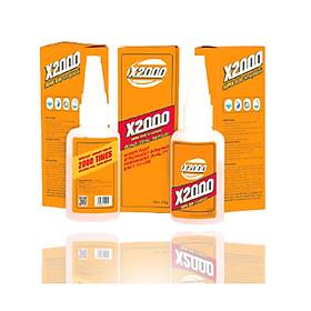 Keo dán siêu dính X2000 (50g) dán gỗ, sắt, sứ, kim loại đa năng