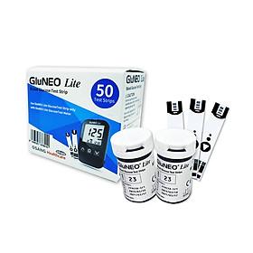 Que thử đường huyết GluNeo lite hộp 50 Test