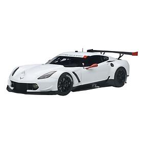 Xe Mô Hình Chevrolet Corvette C7.R (White W/ Red Accents) 1:18 Autoart - 81650 (Đỏ)