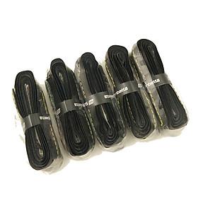 Combo 5 quấn cán vợt cầu lông/tennis Sunbatta QC1301 loại có gân, phụ kiện dành cho vợt tennis, cầu lông, bóng bàn, dễ sử dụng, bền, êm