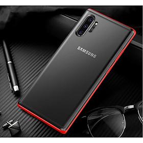 Ốp Lưng Mờ Có Thể Thấy Logo Cho Samsung Galaxy Note 10 / Note 10 Plus TPU Siêu Đẹp