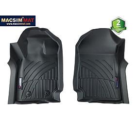 Thảm lót sàn xe ô tô Ford Ranger Raptor Nhãn hiệu Macsim chất liệu nhựa TPV cao cấp màu đen