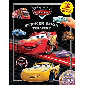 Disney Cars 3 Sticker Book Treasury