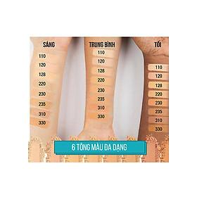 Phấn Nền Maybelline Fit Me Skin-Fit Powder Foundation 9gr Siêu Mịn Màng PM714-3