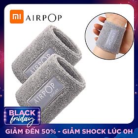 Xiaomi Youpin Airpop Cotton Wrist Band Cotton Sweat-absorbent Wristband Sport Sweat Band Hand Band Wrist Support Brace