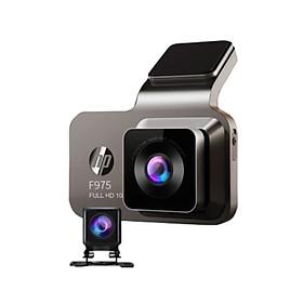Camera hành trình ô tô HP f975x tích hợp camera lùi Wifi GPS màn hình 3 inch LCD Color Panel