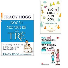 Combo 3 cuốn nuôi dạy con: Đọc Vị Mọi Vấn Đề Của Trẻ + Trò Chơi Cho Con: Trò Vui Dễ Nhất Thế Gian Với Một Tờ Giấy + 90% Trẻ Thông Minh Nhờ Cách Trò Chuyện Đúng Đắn Của Cha Mẹ