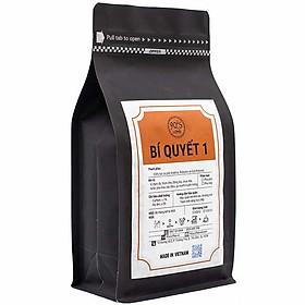 Cà Phê Rang Xay Nguyên Chất - 90S Coffee Vietnam | Bí Quyết 01 | Công Thức Phối: Arabica + Robusta + Culi | 100% Cà Phê Sạch | Đậm Đà - Chua Nhẹ