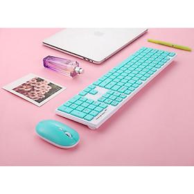 Bộ bàn phím chuột không dây nhỏ gọn T2000