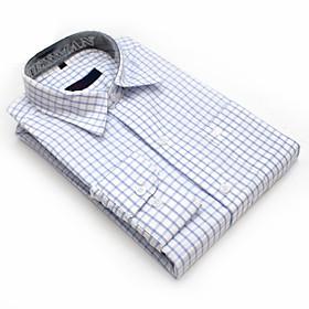 Áo sơ mi nam dài tay sọc caro CAO CẤP form regular loại sơ mi công sở vải cotton đẹp mềm mịn không nhăn không phai màu mặc thoải mái có nhiều mẫu nhiều size từ 45kg-85kg