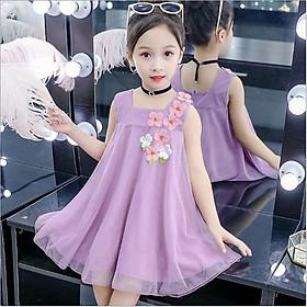 Đầm xinh bé gái hàng quảng châu 3 đến 14 tuổi - AA15