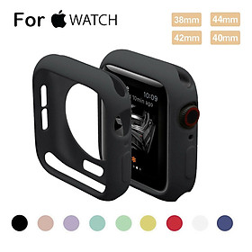 For Apple Watch Series 4 3 2 1 Bumper Silicone Protector Case Cover 38/40/42/44mm