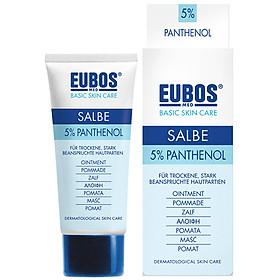 Kem Ngừa Nứt Da 5% Panthenol EUBOS Ointment 5% Panthenol (75ml)