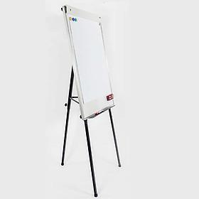 Bảng kẹp giấy viết bút lông Flipchart 3 chân rút kích thước 70x100cm (Giấy A1)
