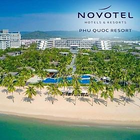 Gói 3N2Đ Novotel Resort 5* Phú Quốc - Buffet Sáng, Hồ Bơi, Bãi Biển Riêng, Xe Đón Tiễn Sân Bay, Nhiều Hoạt Động Giải Trí, Dành Cho 02 Người Lớn Và 02 Trẻ Em Dưới 16 Tuổi