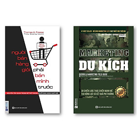 Combo Muốn bán hàng giỏi phải bán mình trước + Marketing du kích (Tặng kèm Kho Audio Books)