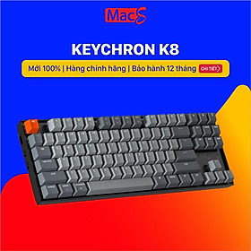 Keychron K8 - Bàn phím cơ Keychron K8 Bản nhôm-Hàng chính hãng