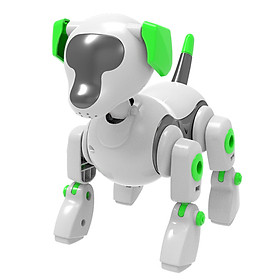 Robot Dog Toy for Kids DIY Toy Interactive Toy Intelligent Educational Kids Toys Suitable for Boys Girls Gift
