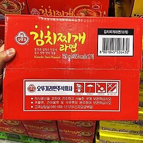 OTTOGI Kimchi Jjigae Ramen 150g x 12ml