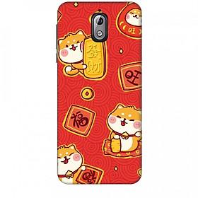 Ốp lưng dành cho điện thoại NOKIA 3.1 Mèo Thần Tài Mẫu 4