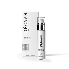 Kem giảm mụn giảm nhờn Decaar Anti Acne Cream 24hr 50ml