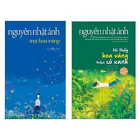Combo Truyện Dài Được Yêu Thích Nhất: Trại Hoa Vàng + Tôi Thấy Hoa Vàng Trên Cỏ Xanh (Sách Của Nguyễn Nhật Ánh - Tặng Kèm Bookmark Green Like)
