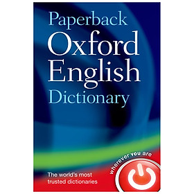 Paperback Oxford English Dictionary (Seventh Edition)