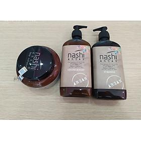 TRỌN BỘ GỘI - XẢ - Ủ NASHI ARGAN 500ML-2