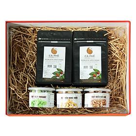 Hộp Quà Tặng Cao Cấp Light Coffee TET1 (5 Món)