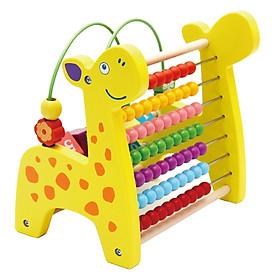 Bộ đồ chơi gỗ 3 trong 1 hình các con vật đáng yêu cho bé