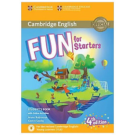 Fun for Starters SB w Online Activities w Audio, 4ed