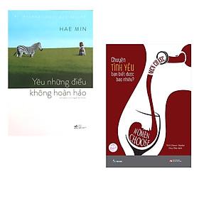 Combo 2 cuốn :  Chuyện Tình Yêu Bạn Biết Được Bao Nhiêu? + Yêu Những Điều Không Hoàn Hảo