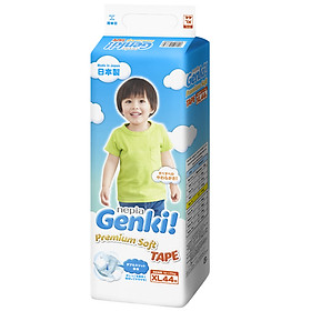 Tã dán Nhật cao cấp Genki (XL, 44 miếng)