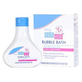 Sữa Tắm Tạo Bọt Dịu Nhẹ Cho Bé Sebamed Baby Bubble Bath pH 5.5 SBB01B (200ml)