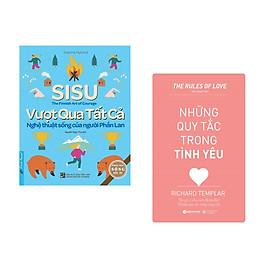 Combo 2 cuốn sách: SiSu - Vượt Qua Tất Cả + Những quy tắc trong tình yêu