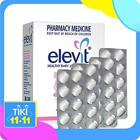 Viên uống vitamin tổng hợp cho bà bầu Elevit nhập khẩu Úc