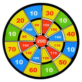 ENPEX sticky ball dart board parent-child baby sports toys boys and girls flannel sucker dart target 2 set-3