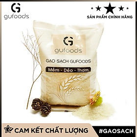 Gạo sạch GUfoods (dẻo - mềm - thơm) (1kg)