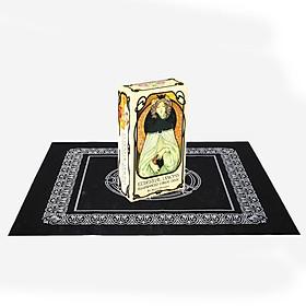Combo Bộ Bài Bói Tarot Ethereal Visions Illuminated Tarot Deck và Khăn Trải Bàn Tarot