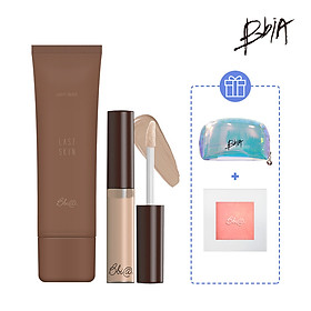 Combo Slim Face: 01 Last Skin + 01 Last Contouring #02 Coffee Brown tặng 01 Highlighter + 01 Pouch